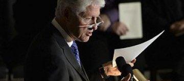 """Билл Клинтон поддержал """"смелых украинцев"""""""