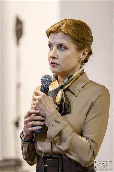 Супруга президента Марина Порошенко посетила книжный форум в день его открытия