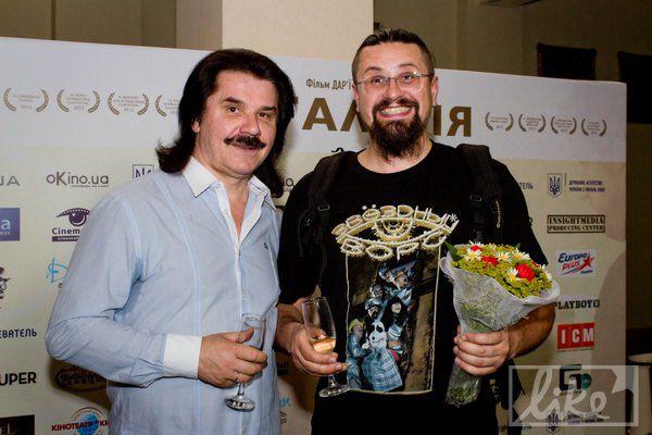 Премьеру посетил Павел Зибров