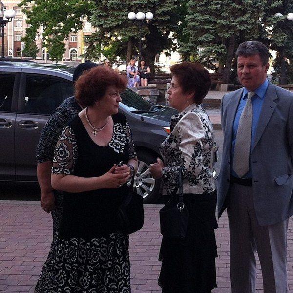 """Людмила Янукович сходила на спектакль """"Нация"""""""