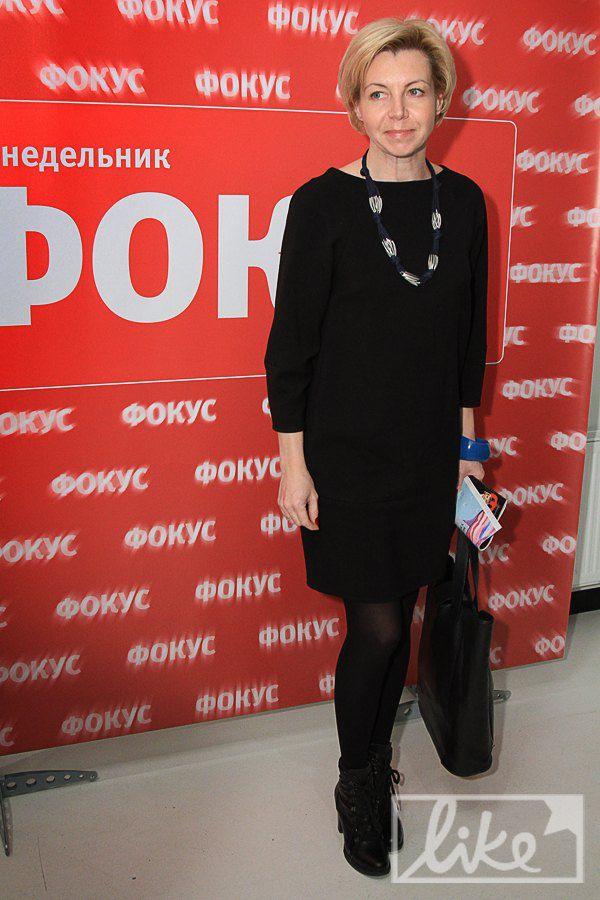 Телеведущая Оксана Соколова