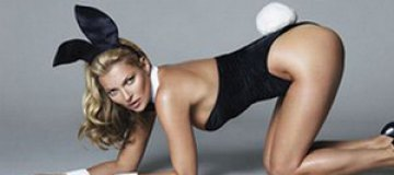 Опубликован фотодебют Кейт Мосс для Playboy
