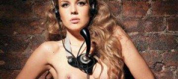 Елена Горностаева в журнале Playboy