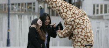 """В Шотландии появился """"жираф доброты"""""""