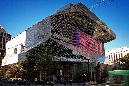 Общественная библиотека Сиэтла, штат Вашингтон, США