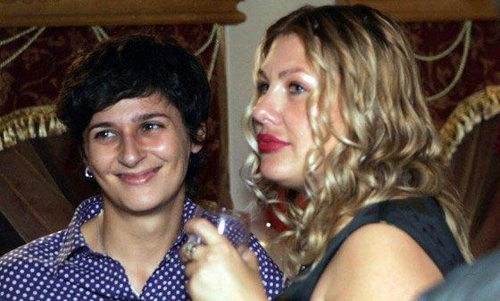 Ева Польна с женой