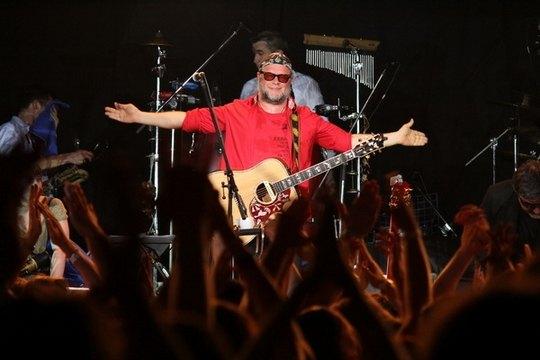 Борис Гребенщиков на киевском концерте