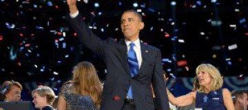 Знаменитости поздравили Обаму с победой на выборах