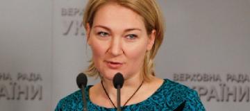 Нардеп Ионова взяла в Европарламент двухмесячного сына