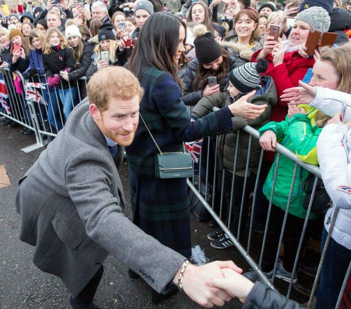 Принц Гарри и Меган Маркл в Шотландии