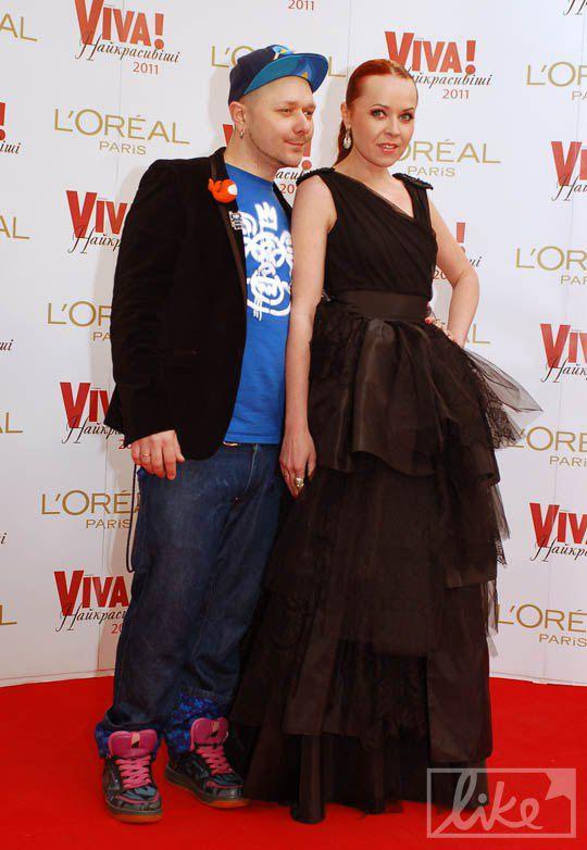 Телеведущая Татьяна Гончарова с мужем