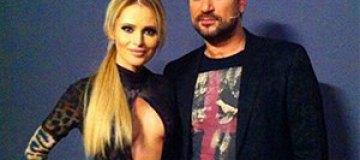 Дана Борисова надела платье с откровенным декольте