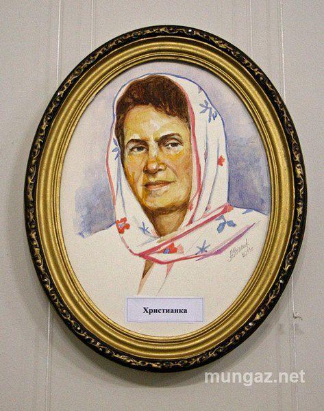 Фронтовик нарисовал Людмилу Янукович