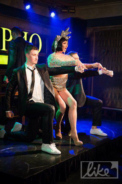 Анастасия Волочкова зажигала своими танцами