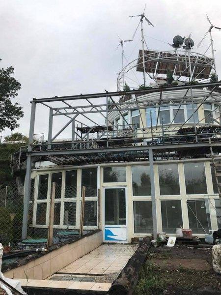 Дом Русланы пострадал от пожара из-за удара молнии