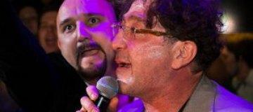Лепс спел на открытии своего караоке в Киеве