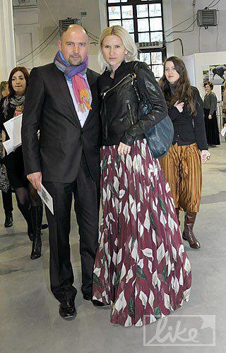 Президент телегруппы StarLightMedia Александр Богуцкий с супругой Еленой