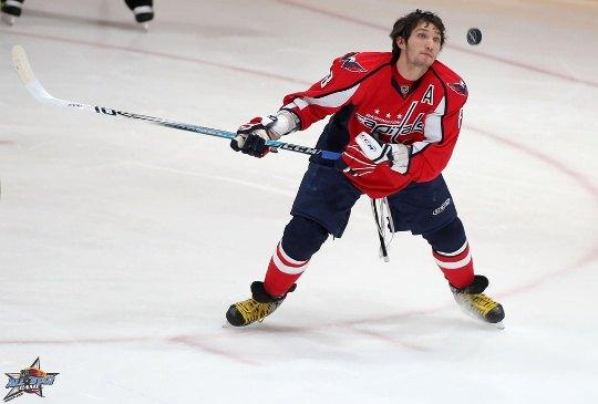 Александра Овечкина не волнуют рейтинги - он занят хоккейной шайбой