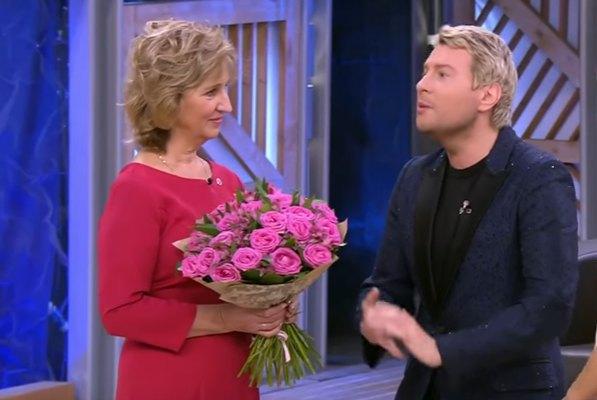 Наталья Лобода в эфире российского шоу с другом дочери Николаем Басковым