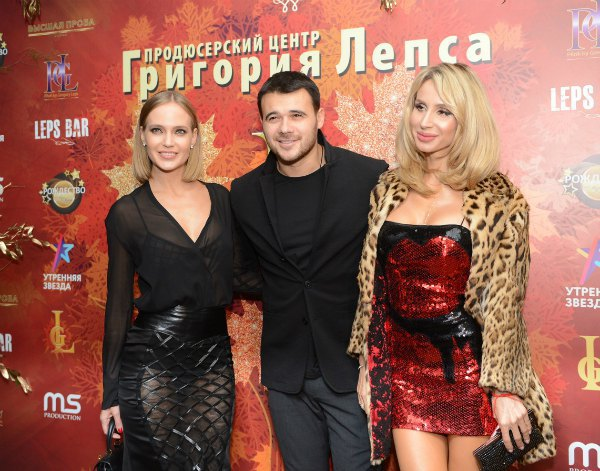 Светлана Лобода (справа) с Натальей Ионовой (слева)