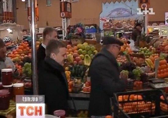 Владимир Жириновский на Бессарабском рынке