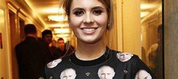 Дочь Валерии носит свитер с изображением Владимира Путина