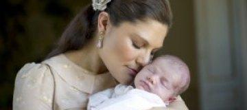 Принцесса Виктория показала дочь