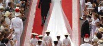 Ковер со свадьбы принца Монако выставили на аукцион