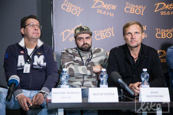 Олег Скрипка честно сказал, что ему уже никому ничего доказывать не нужно, а молодые могут сказать свое слово
