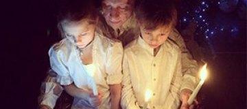 Охлобыстин с детьми помолился за Украину