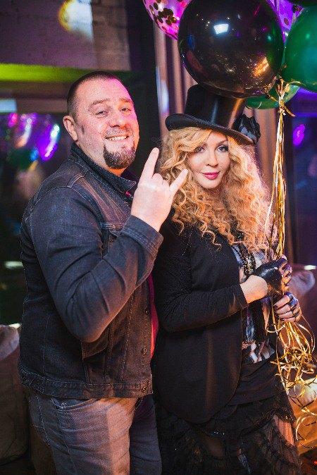 Ресторатор Андрей Задорожный и Ирина Билык