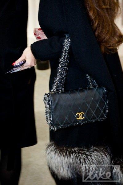 Сумка Натальи от Chanel