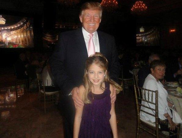 Джеки Иванко и Дональд Трамп в 2011 году