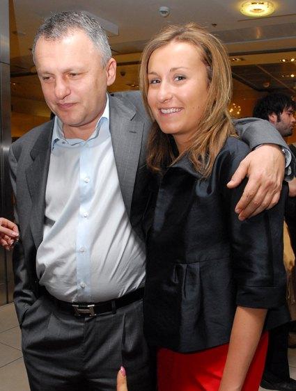 Игорь Суркис со старшей дочерью Мариной