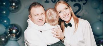 Сыну Осадчей и Горбунова исполнилось два года