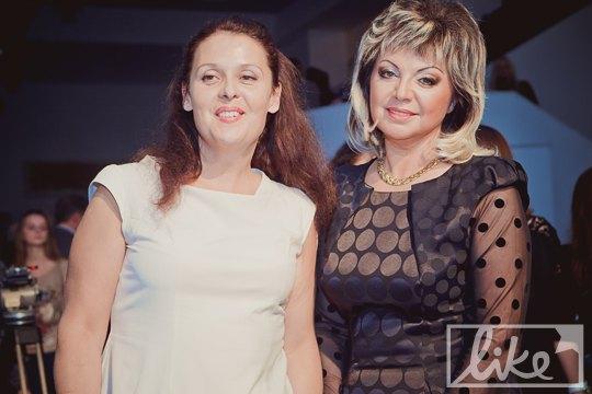 Fashion-продюсер Мила Городецкая (справа)