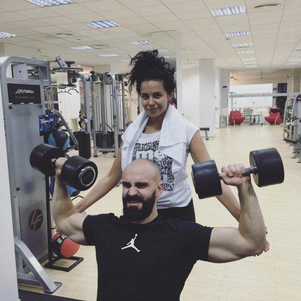 Вернувшись в Киев, Настя первым делом пошла к любимому тренеру Андрею