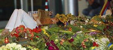 Виталий Кличко и Руслана почтили память погибших Боинга-777