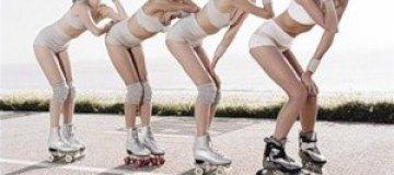 Vogue заставил моделей заниматься спортом