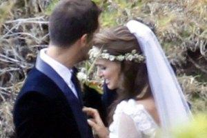 В Интернет попали фото со свадьбы Натали Портман