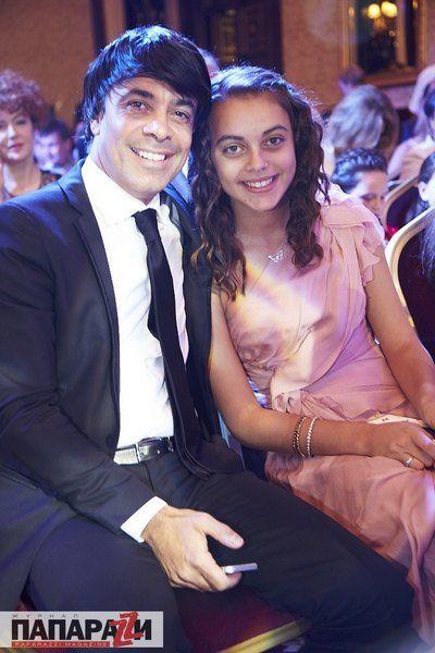 """Вице-президент """"Первого Национального"""" Валид Арфуш с дочкой Лизой"""