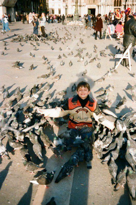11-летний Саша Аваков в Венеции (1999 год)