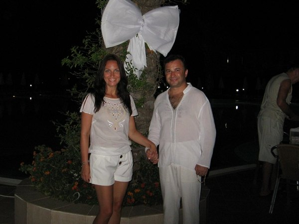 Виктор Павлик с женой Ларисой
