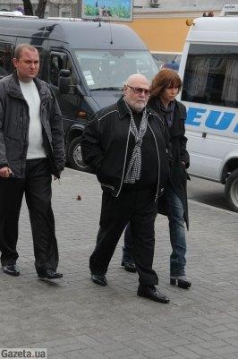 Ян Табачник с супругой Татьяной Недельской