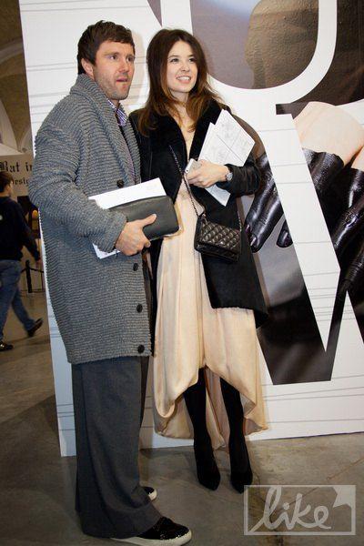 Футболист Виталий Рева с женой