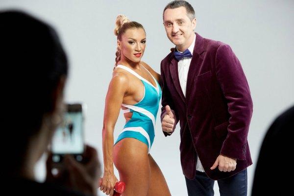 Наталья с мужем-продюсером