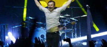 """На концерте """"Океана Ельзи"""" в Беларуси отбирали украинсккие флаги"""