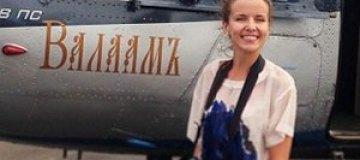 Муж отправил Инну Цимбалюк в монастырь на вертолете