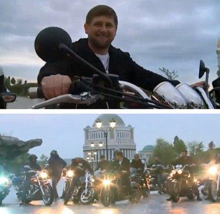 Рамзан Кадыров и Ночные волки