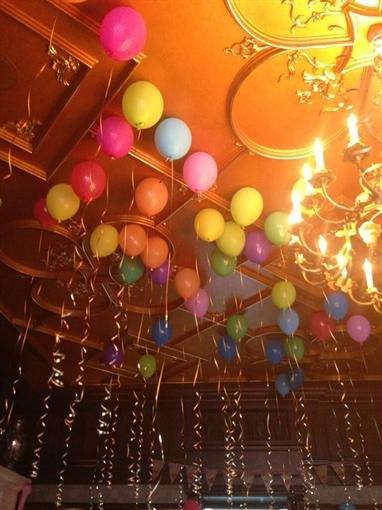 Пугачева лично украшала дом цветами и шариками